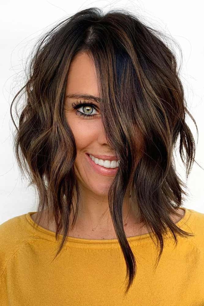 30 Trendy Hairstyles For Long Faces Lovehairstyles Com Long Face Hairstyles Long Face Haircuts Oblong Face Hairstyles