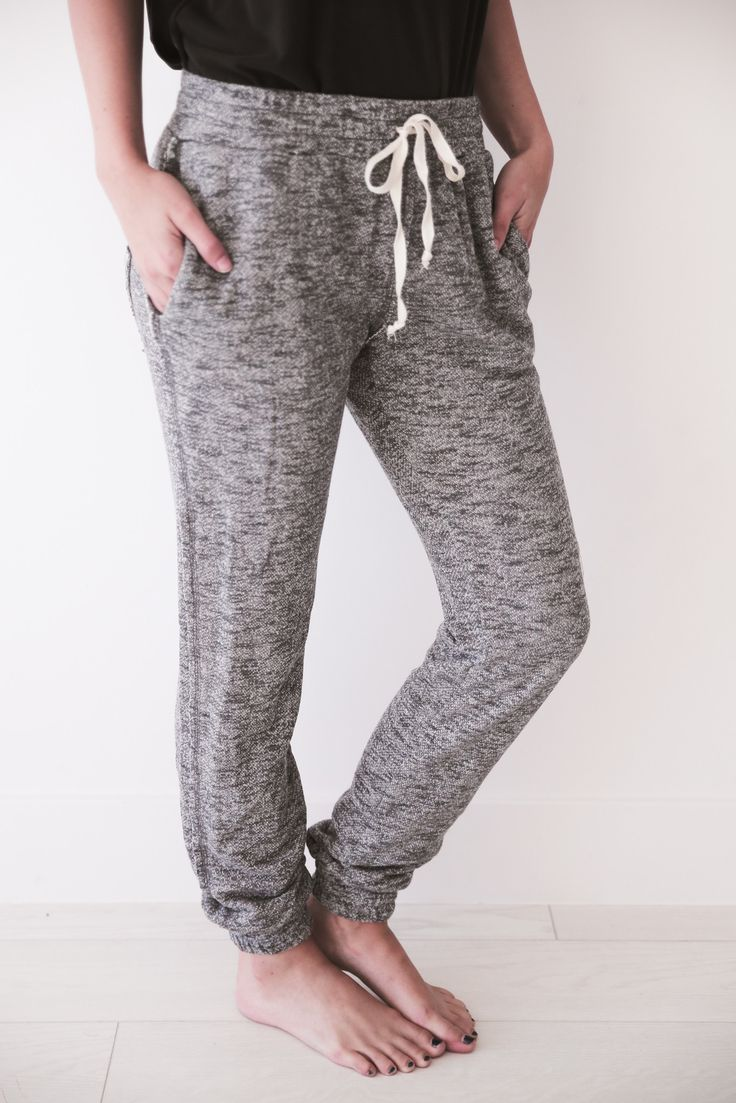Black Speckle Sweats