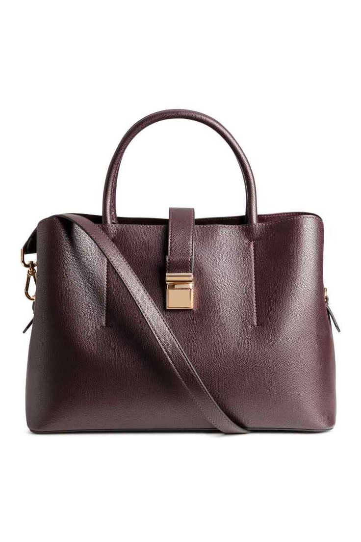 Handbag - Burgundy - Ladies | H&M GB 1
