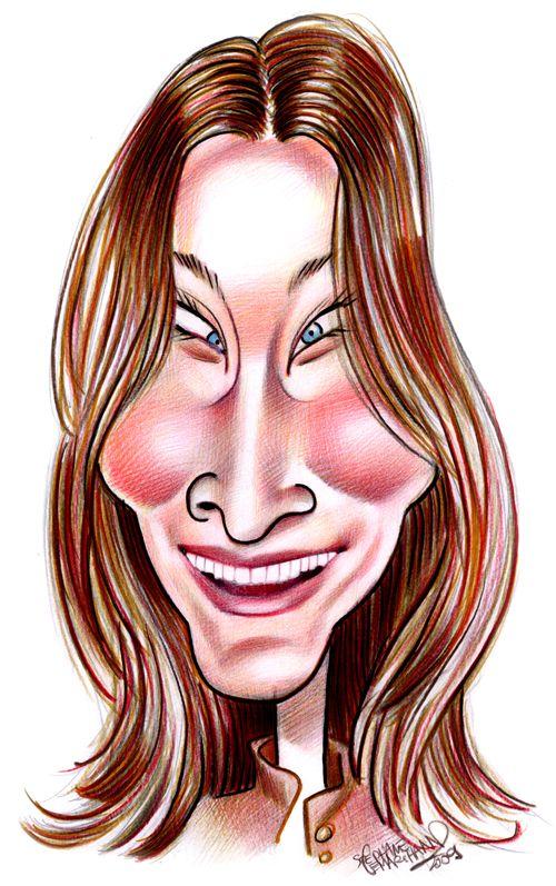 caricature de Carla Bruni                                                                                                                                                                                 Plus