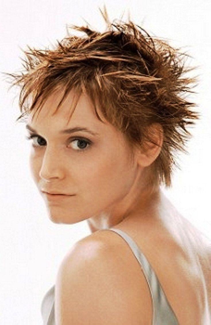Amazing 17 Best Ideas About Short Spiky Hairstyles On Pinterest Short Short Hairstyles Gunalazisus