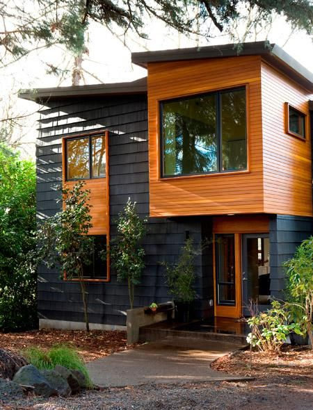131 best front of the house ideas images on pinterest for Modern house portland