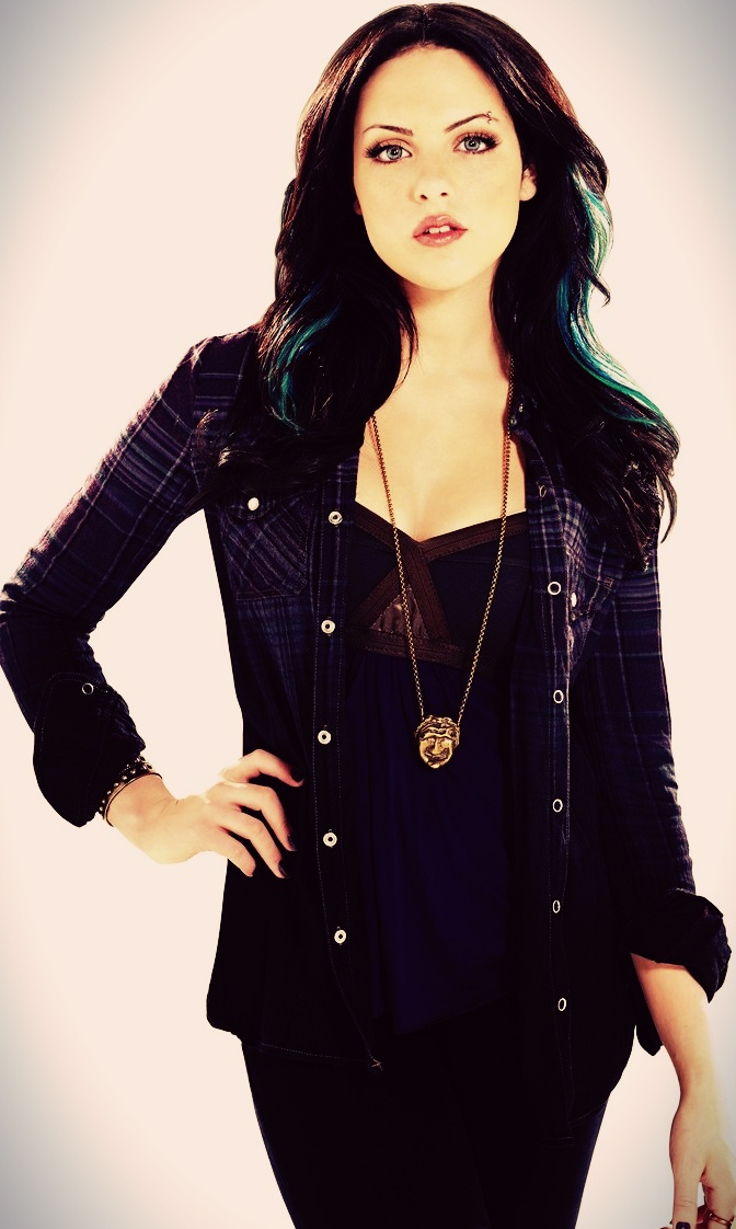 elizabeth gilies as jade west in victorious