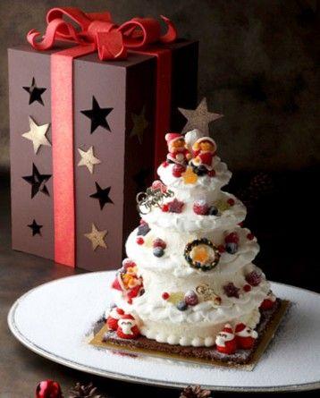 CHRISTMAS CAKE 2012 サンタクロースや雪だるまも☆おいしくて可愛いクリスマスケーキ 2012|画像特集|JOSHI+