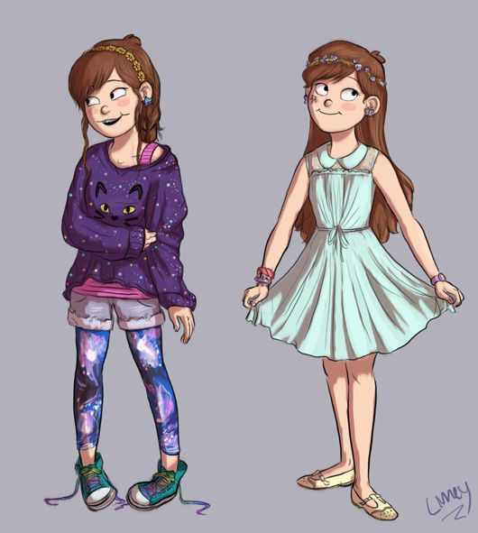 Mabel@limey404.tumblr.com THIS IS ADORABLE OUTFITS I WANT | gravity ...