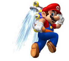 Water jet one was stolen from Super Mario Sunshine!