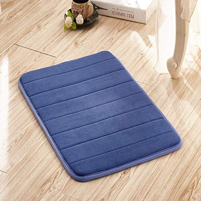 Amazon Com Tina S Memory Foam Absorbent Non Slip Bath Mat Soft