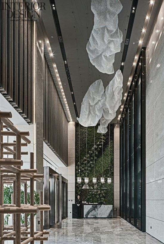 New Town - Shandong Greenland International Finance Center IFC Exhibition Center - American Interior Design Chinese Network