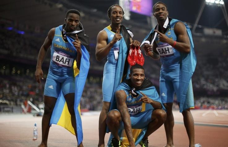 Le relais 4x400 m des Bahamas remporte son premier titre olympique