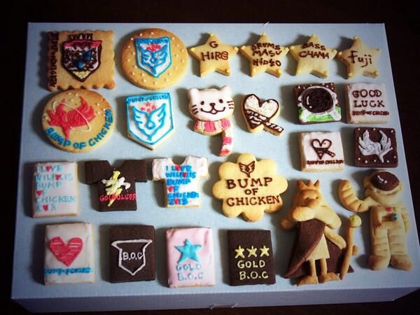 BUMP OF CHICKEN cookie
