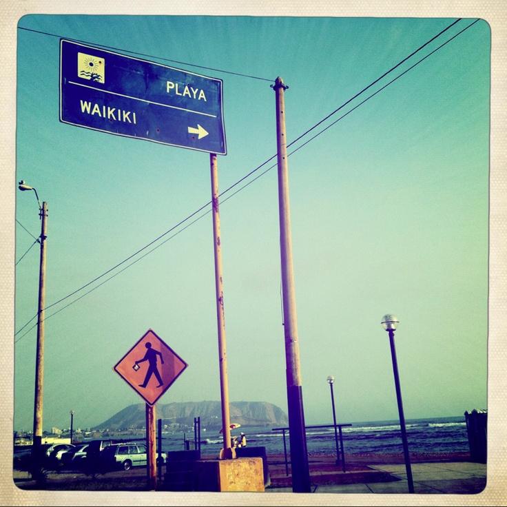 Waikiki.