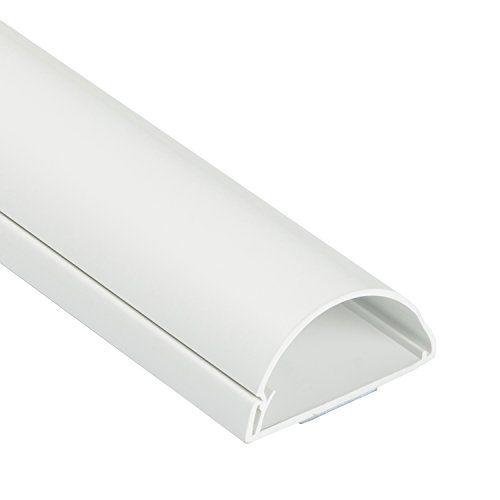 D-Line 1D5025W/EH Goulotte passe-câbles 1m 50x 25mm Blanc #Line #DW/EH #Goulotte #passe #câbles #mm #Blanc