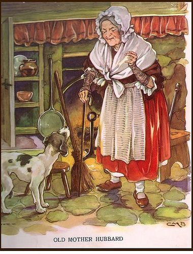 Old Mother Hubbard, Clara Burd