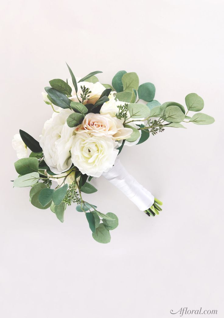make your own wedding flower centerpieces%0A Silk Flower Wedding Bouquet  Make your own bridal bouquet with fake flowers  from Afloral