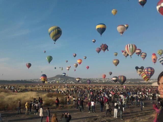 Feria del globo, Leon, Mexico