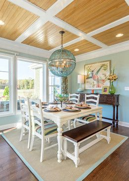 Dining Room - The Kingfisher 2.0 - beach-style - Dining Room - Other Metro - Schell Brothers