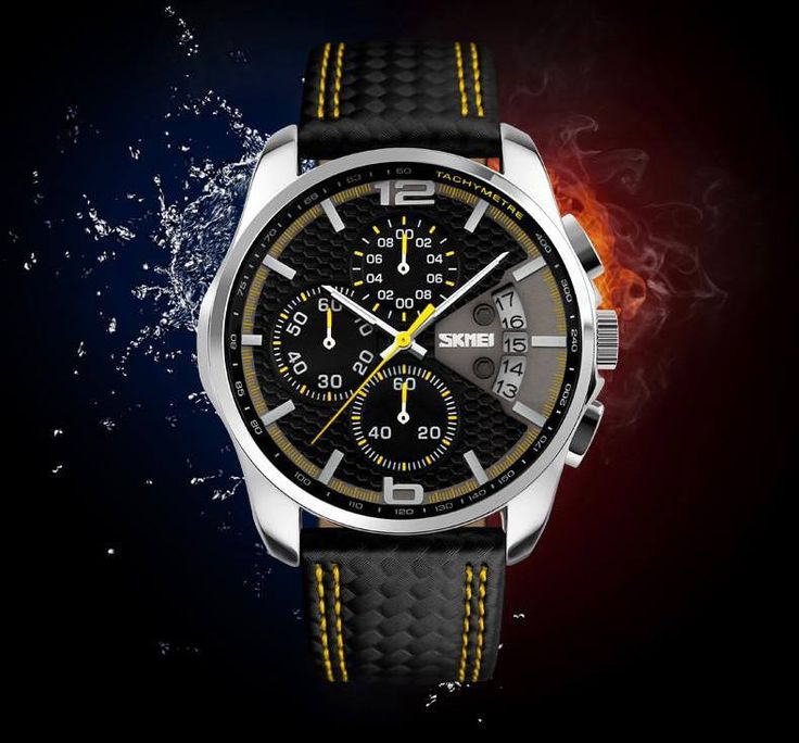 Men, do you have any idea what it feels like to watch an expensive timepiece sink to the bottom of a large body of water? Do you want to know? Just because it was built for under water depth doesn't mean it was built to take you with it. There are plenty of cool-looking, low-priced, water-resistant watches on the market that won't keep you up at night should you accidentally lose it. We have several very reasonably priced watches, just click here…