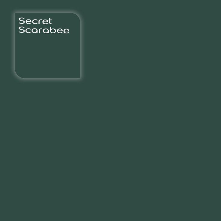 Flexa Creations kleur: Secret Scarabee. Klik op de foto om een kleurstaal te bestellen.