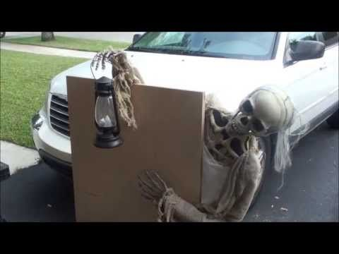 ▶ Graveyard Creep Animated Halloween Prop - YouTube