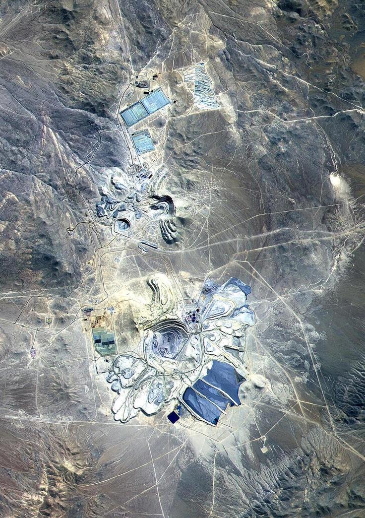 Mine Escondida, Atacama Desert, Chile.
