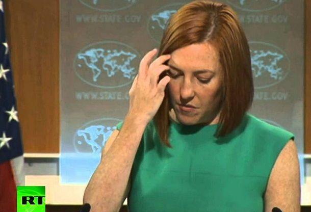 Hot Mic: Jen Psaki loses it after her State Dept propaganda gaffe