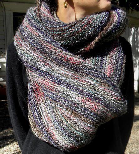 Bracken Knit Scarf