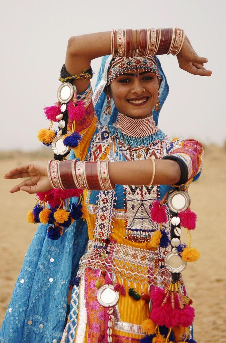 Loving the color, energy and fantastic tassels on this desert goddess! inspiring, #Devata #BeaGoddess