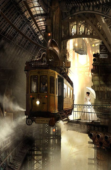 steampunk art - love this