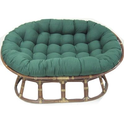 Found it at Wayfair - Oversize Double Papasan Chair Cushion