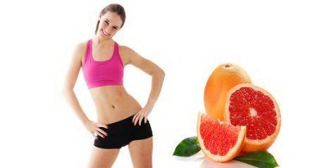 Thực đơn giảm cân với bưởi