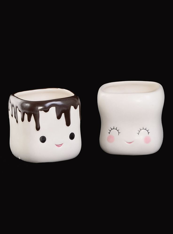 Sweet Marshmallow Mugs Set by One Hundred 80 Degrees | Drinkware | PLASTICLAND