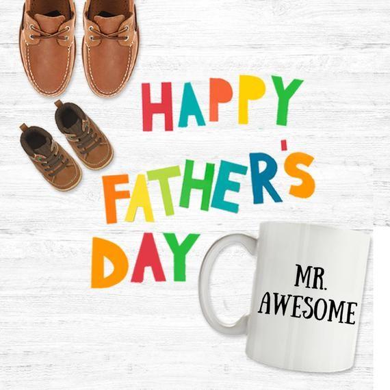 Mr. Awesome mug. Mug for husband, mug for dad, awesome guy, gift for husband, gift for dad, gift for