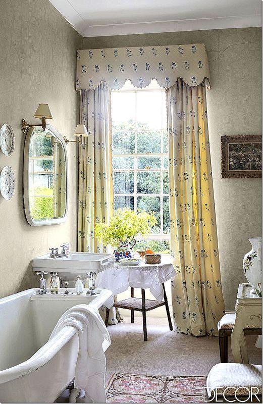 lovely English cottage bath