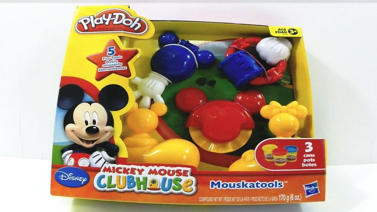 Massinha Play-Doh do Mickey Mouse Clubhouse Disney Hasbro