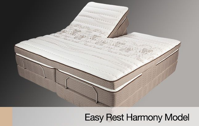 Easy Rest | Adjustable Beds and Mattresses Easy Rest is an adjustable bed manufacturer striving to create the best mattress on the market to help consumers get a good night's sleep easily and consistently. We constantly test and implement new technologies and production methods, allowing us to offer the highest quality product for our customers.   http://www.easyrest.com/  #Adjustable_Bed