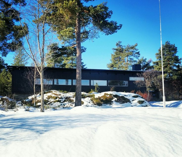 """Villa Engen"", Moelv. Arkitekt Are Vesterlid, 1962. Foto: m o p p e g u r i 2017"