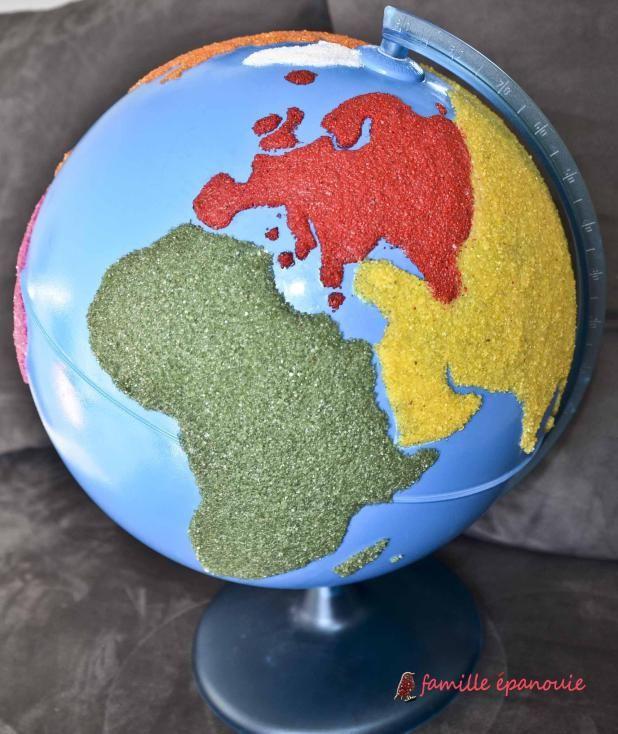 Comment fabriquer un globe Montessori
