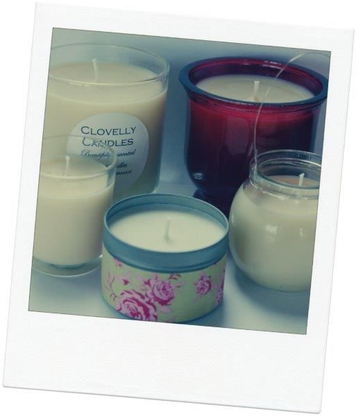 our candle range