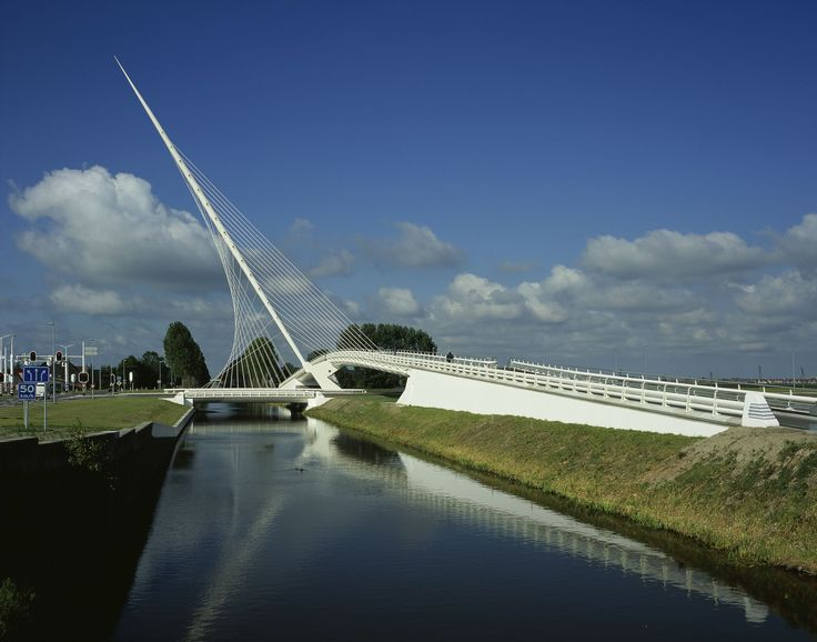 Bridges over the Hoofdvaart / Dedemsvaart (Gallery) - Santiago Calatrava – Architects & Engineers