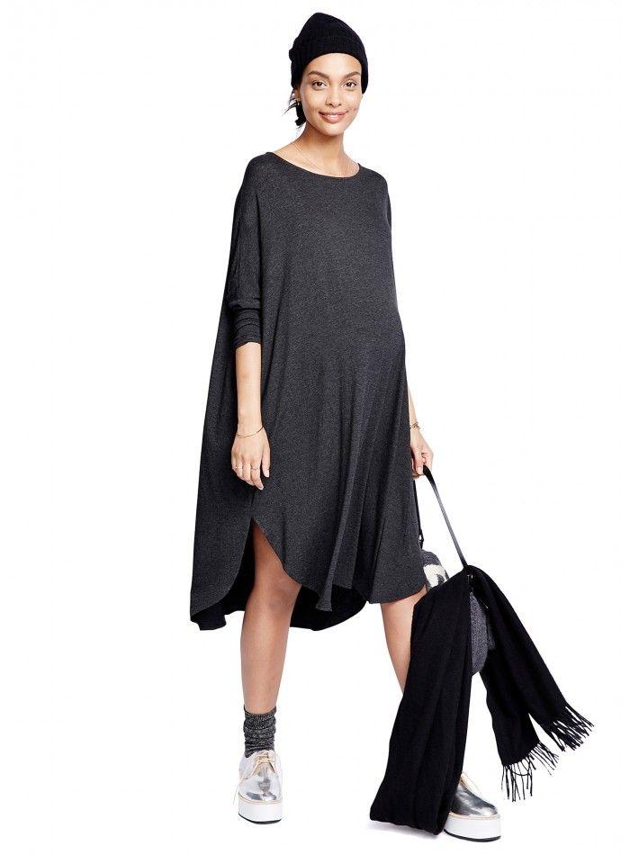 The Jersey Drape Dress #HATCHCollection #Dress #MaternityStyle