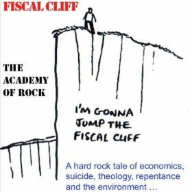 """Fiscal Cliff - The song includes """"The Lord's Prayer according to Economics"""" and comes with a free """"Omen Mix"""" version of the prayer  Amazon http://www.amazon.co.uk/Fiscal-Cliff/dp/B00E6U9DD0 iTunes https://itunes.apple.com/us/album/fiscal-cliff-single/id680115208"""