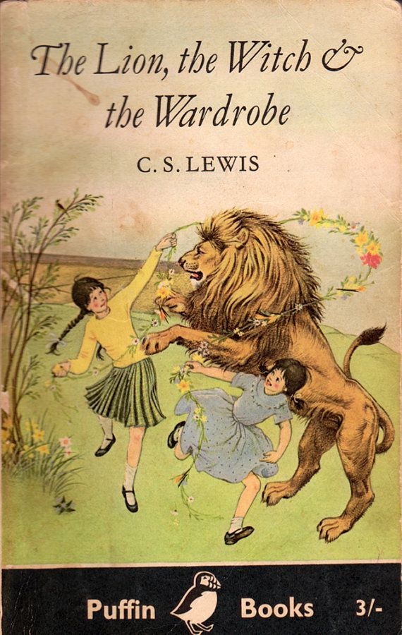 The Lion, the Witch, and the Wardrobe-The book that ignited my passion for stories. A childhood classic.
