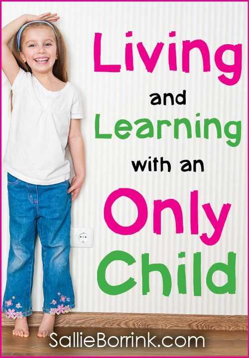 Living and learning with an only child is an increadible adventure. Only children offer so many opportunities to their parents and experience life in a unique way. Find resources for parenting an only child and homeschooling an only child. #onlychild #smallfamily