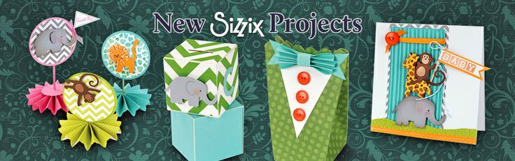 DIY PARTY IDEAS. Create parties for any occasion with the help of Sizzix! #Sizzix #DIY #Parties