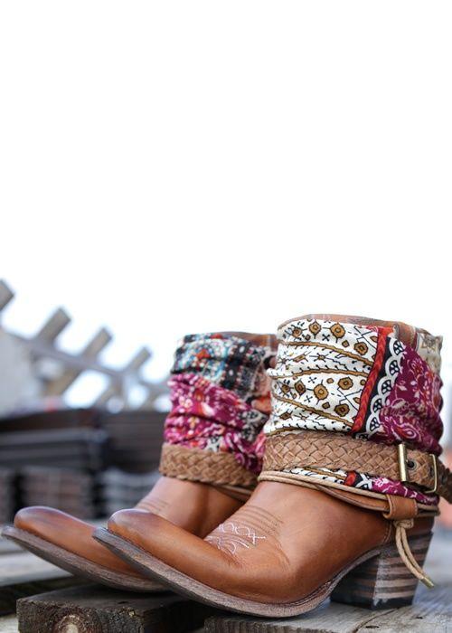 Sendra Leather Boots #SilkyJean #Bohemian #Boho www.silkyjean.com