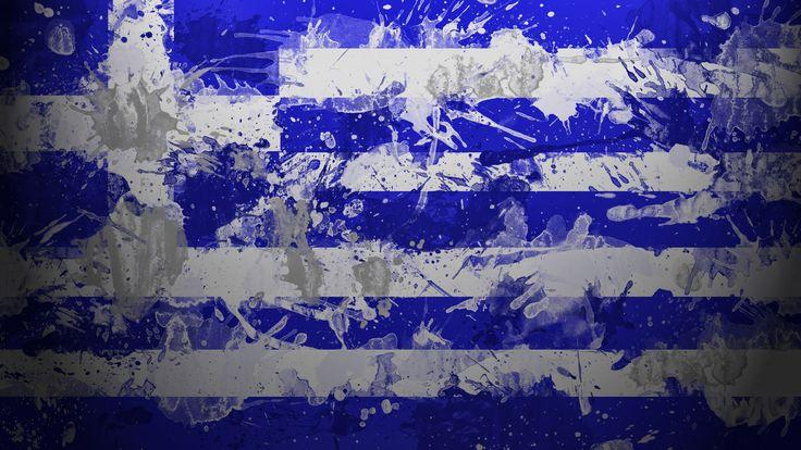 #Griechenland-Flagge Farben
