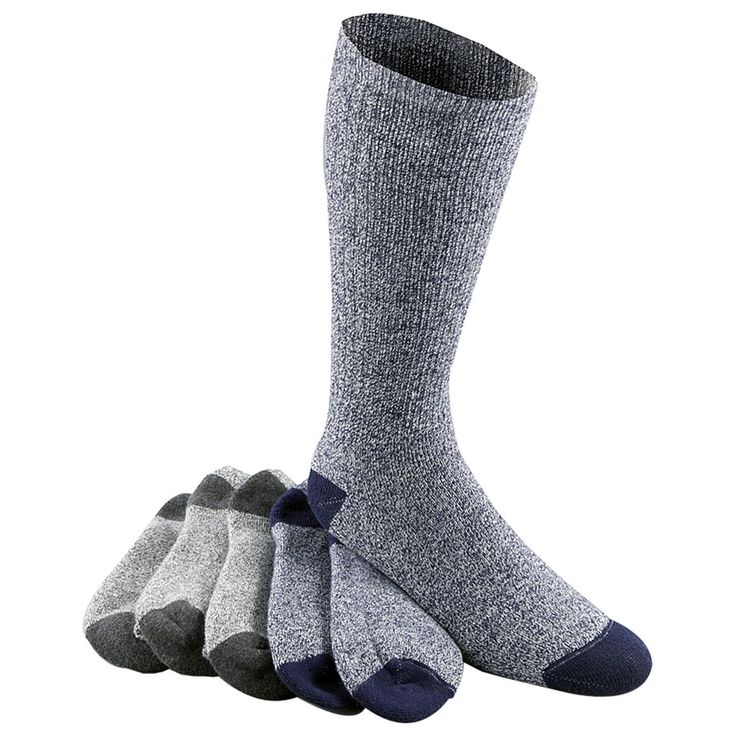6-Pk. Ultra Soft Moisture Wicking Socks