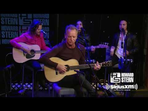 "The Howard Stern Show: Sting ""Message in a Bottle"" Live on the Howard Stern Show"