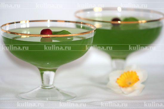 Мятное желе - рецепт с фото