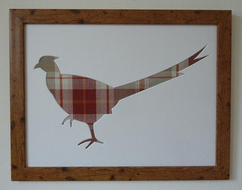 Countryside Pheasant picture frame